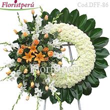 Corona Funebre Grande D86